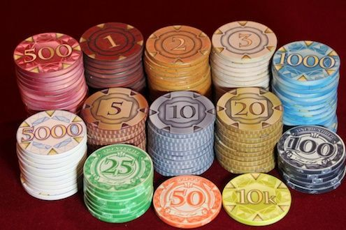 Nice Poker Chips With 20 Value Where To Find Boardgamegeek