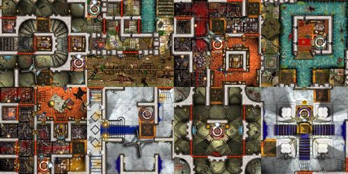 Throne and dungeons dungeon twister boardgamegeek here the map gumiabroncs Gallery