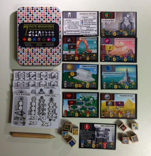 Board Game: 7 Dice Wonders