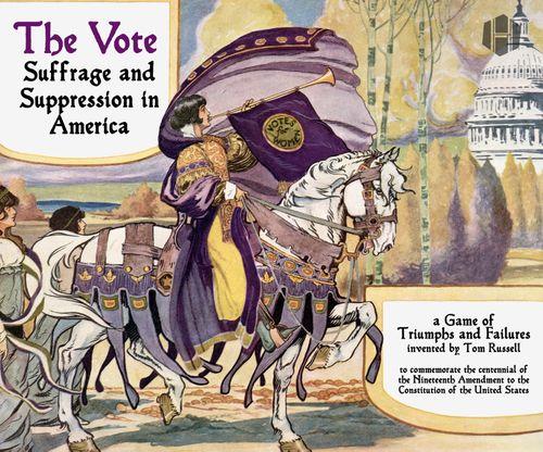 Board Game: The Vote: Suffrage and Suppression in America