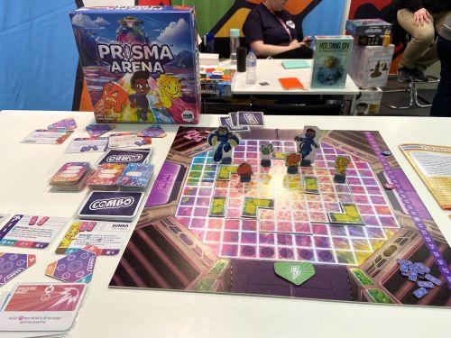 Board Game: Prisma Arena