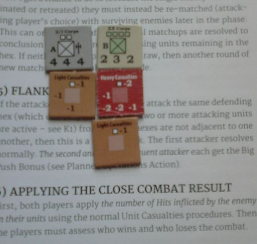 GS SR 002e – German I Corps attack – both sides apply casualties