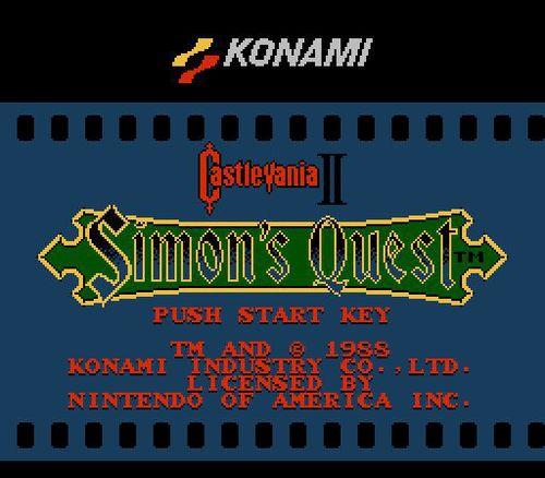 Pretty Cool, Old School | Castlevania II: Simon's Quest
