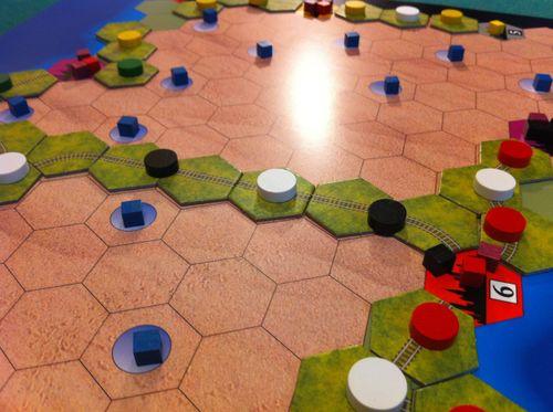 Board Game: Age of Steam Expansion: Amazon Rainforest & Sahara Desert