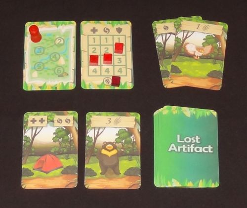 Board Game: Lost Artifact