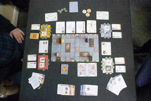Board Game: Robot Fight Club
