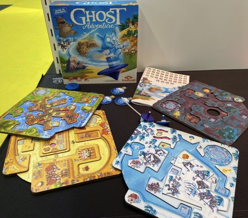 Board Game: Ghost Adventure