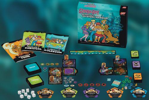 Board Game: Betrayal at Mystery Mansion
