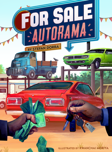 Board Game: For Sale Autorama