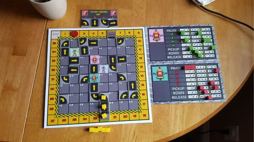 Board Game: Crazy Robot Factory