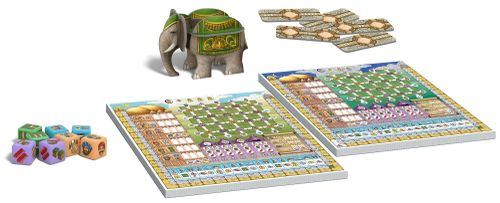 Board Game: Rajas of the Ganges: The Dice Charmers