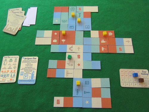 Board Game: Tour Guide