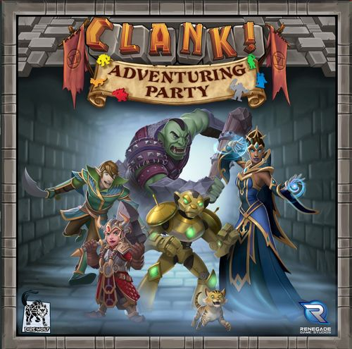 Board Game: Clank! Adventuring Party