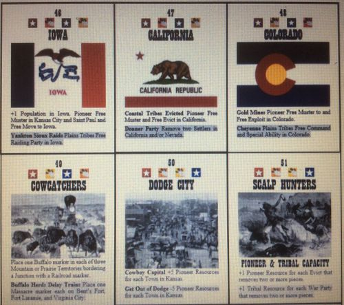 Board Game: As Long as the Grass Grows: The Conquest of the American West 1845-1881