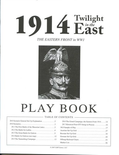 Board Game: 1914: Twilight in the East