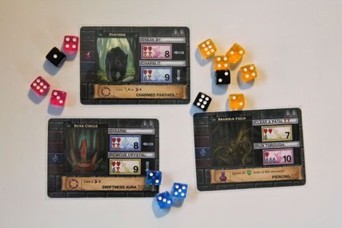 20x Reviews 90 One Deck Dungeon Forest Of Shadows After 20 Plays