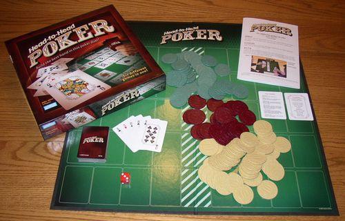 Board Game: Head-to-Head Poker
