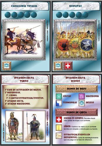 Board Game: Invasión celta