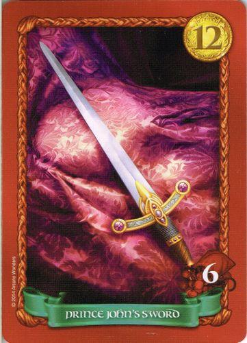 Board Game: Sheriff of Nottingham: Prince John's Sword Promo Card