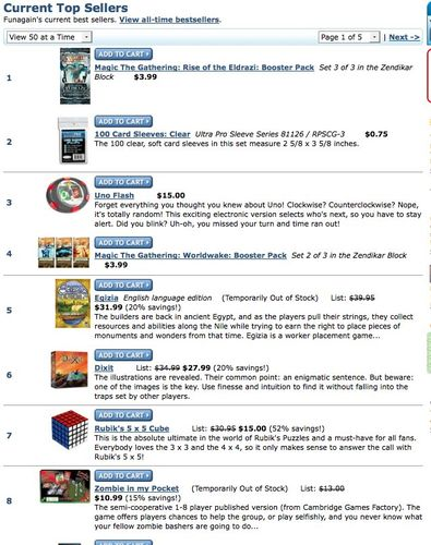a5d0c56113d35 Zombie in my Pocket» Forums » News. Subject   8 on Current Best Sellers ...