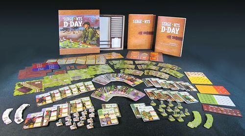 Board Game: Sergeants D-Day