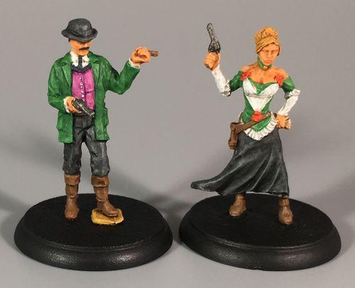 Board Game: Shadows of Brimstone: Gambler Hero Pack