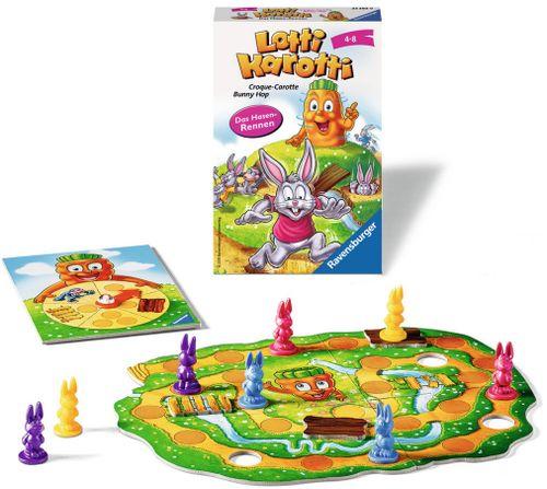 Board Game: Lotti Karotti: Das Hasenrennen