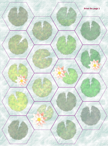 Board Game: Frog Tag