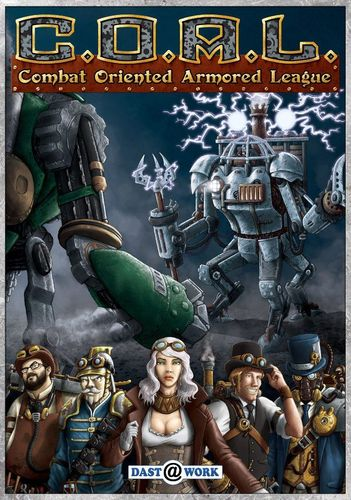 Board Game: C.O.A.L.: Combat-Oriented Armored League