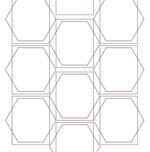 How to Draw Hexagons on MS paint for your own Wargame Grids