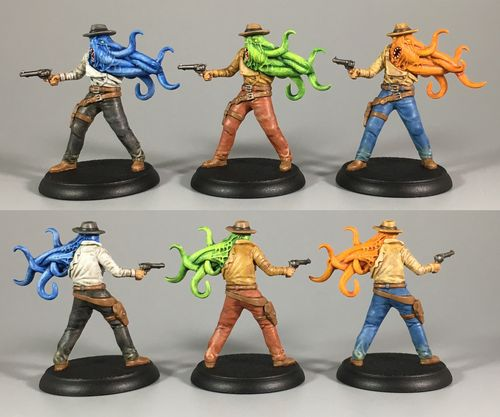 Board Game: Shadows of Brimstone: The Scafford Gang Deluxe Enemy Pack