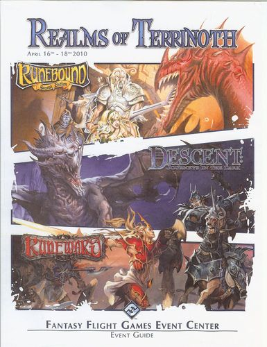 Realms of Terrinoth 2010 PDF   Descent: Journeys in the Dark