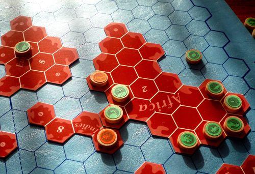 Board Game: Dinosaur Chess