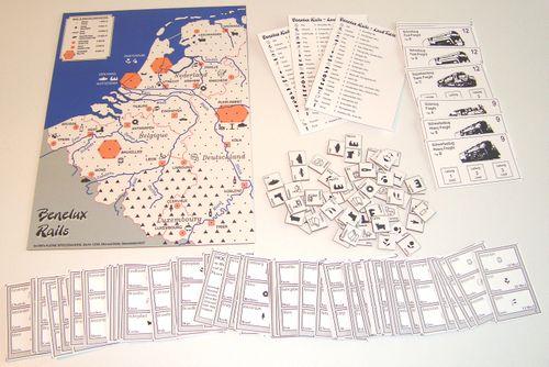 Board Game: Benelux Rails