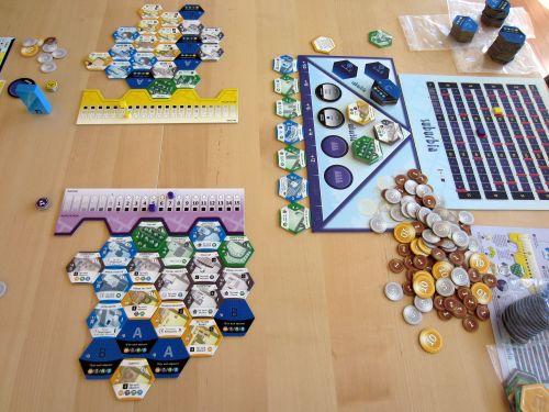 Board Game: Suburbia