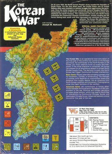 Board Game: The Korean War June 1950-May 1951
