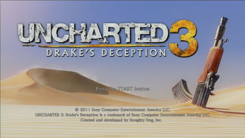 Video Game: Uncharted 3: Drake's Deception