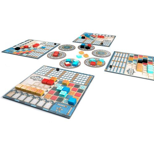 A game in progress of Azul