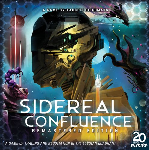 Board Game: Sidereal Confluence: Remastered Edition
