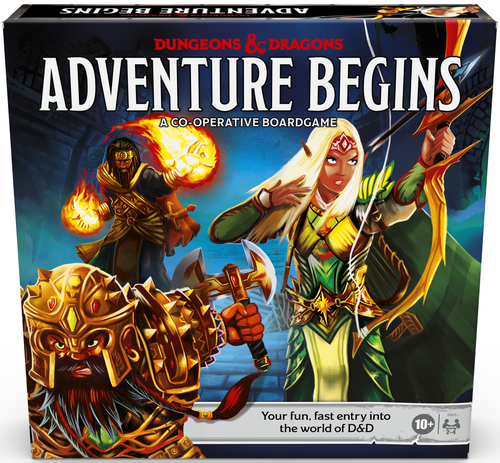 Board Game: Dungeons & Dragons: Adventure Begins