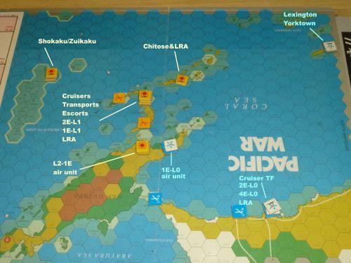 Battle of the Coral Sea AAR (Battle Scenario #2, illustrated