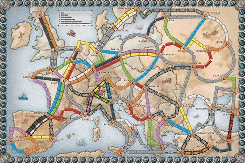 Ticket to Ride: Europe | Image | BoardGameGeek