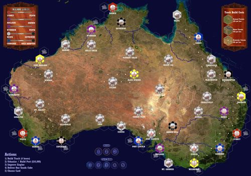 Maps for Railroad Tycoon / Railways of the World - Official