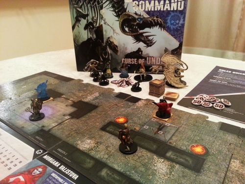 Dungeon Command: Curse of Undeath – A Written Review | Dungeon
