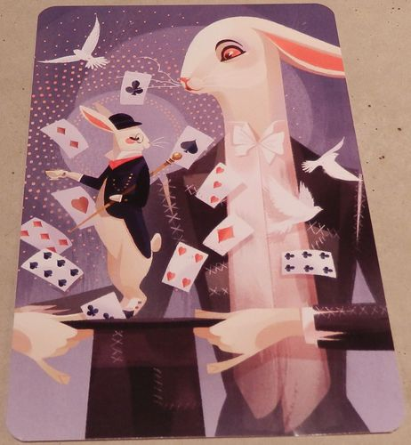 "Board Game: Dixit: ""Magic Bunny"" Promo Card"