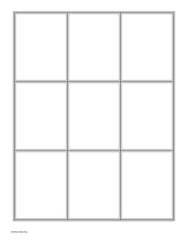 need help creating or finding a blank card template