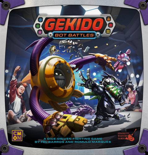 Board Game: Gekido: Bot Battles