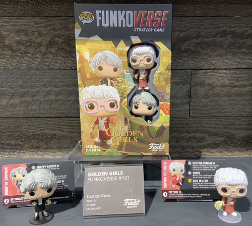 Board Game: Funkoverse Strategy Game: Golden Girls 101 – Dorothy and Sophia