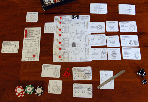 Board Game: Dungeon Cruller