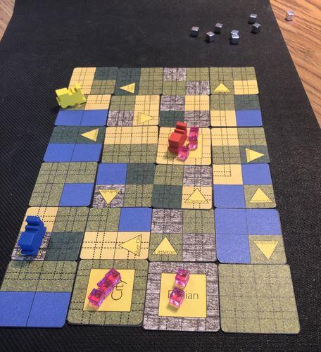 Board Game: Tin Rails